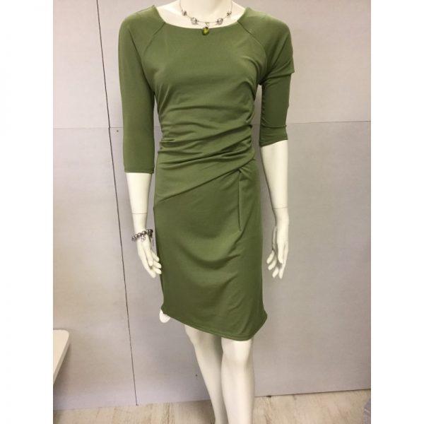 Mosgroene jurk