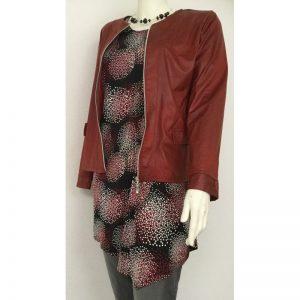 Leatherlook jasje van MAGNA